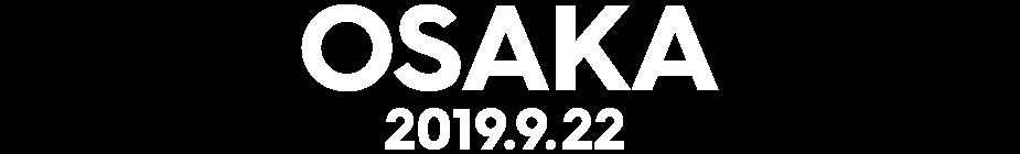 大阪 2019年9月22日